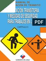 MANUAL DE SEÑALETICA TRANSITORIA EN TRABAJOS VIALES