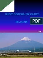Nuevo Sistema Educativo en Japon