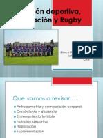 Nutrición deportiva, hidratación y Rugby