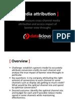 Datalicious Media Attribution