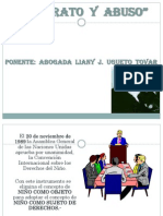 Presentación-Maltrato y Abuso por Abog. Liany J. Ugueto Tovar