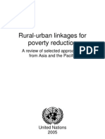Rural-Urban Linkages for Poverty Reduction