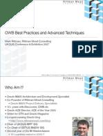 OWBbestpractices