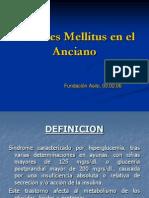 Diabetes Mellitus en El Anciano