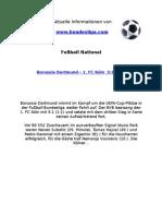 Borussia Dortmund - 1. FC Köln (3-1)