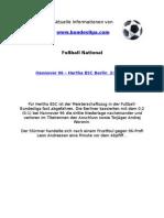 Hannover 96 - Hertha BSC Berlin (2-0)