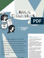 Regular Expressions Google Analytics