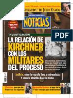 La relación de los Kirchner con los militares del proceso.