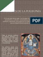 ORÍGENES DE LA POLIFONÍA