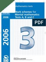 Mark Scheme Mental