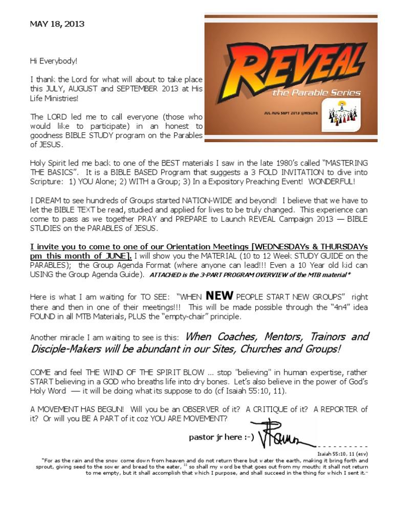 Reveal campaign invitation letter stopboris Choice Image