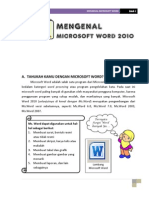 Mengenal Ms Word 2010