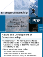 1. Entrepreneurship and the Entrepreneurial Mind-set [8th Edi]