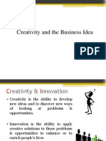 4. Creativity and the Business Idea