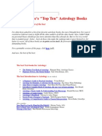 Best Books in Astrology