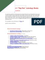 Best Books in Astrology