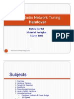 3GSM Radio Network Tuning_Handover (Day3)