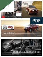 Isuzu D MAX Brochure