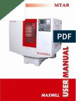 Maxmill - Fanuc Manual