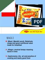 68980142 35876401 Demand Analysis on Chosen Product Maggi
