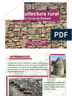 Arquitectura rural a la Conca de Barberà
