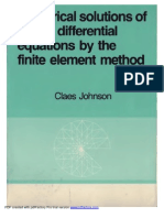 Numerical Solutions of PDE by the FEM