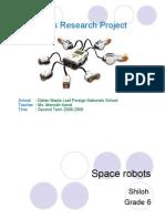 6f Shiloh - Space Robots