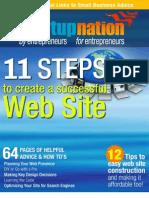 11 Steps to Create a Successful Website eBook