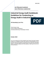 Industrial Energy Audit Guidebook.
