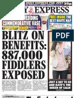 Daily Express Thursday April 28 2011