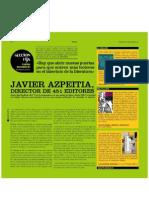 Javier Azpeitia - marzo 09