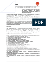 Decreto PARA DEFINIÇÃO DA PGV