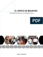 Access to Justice- through the eyes of a colourless lens