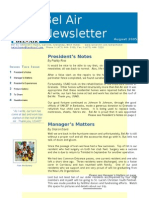 Bel Air Newsletter Aug 2005