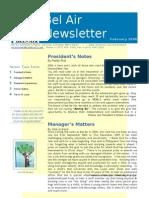 Bel Air Newsletter Feb 2006