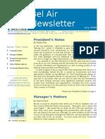 Bel Air Newsletter Jul 2006