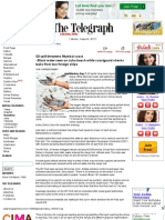 Oil Spill Threatens Mumbai Coast