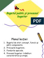Bugetul Public Si Procesul Bugetar