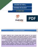 Calidad de Vida y Vivienda en Jalisco 2012