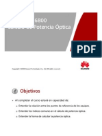 6. OptiX OSN 6800 Optical Power Calculation ISSUE 1.11 ESPAÑOL [Compatibility Mode]