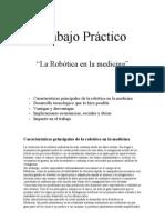 Tp La Robotica en La Medicina