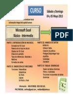 Public. curso excel b+ísico-Interm conten. may  2013