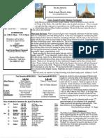 St. Joseph April 28, 2013 Bulletin