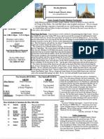 St. Joseph May 19, 2013 Bulletin