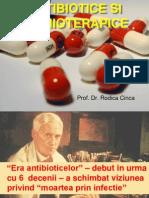 Farmacologie - Antibiotice