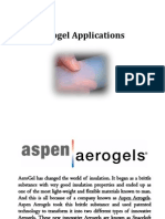 Aerogel Applications