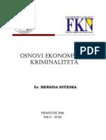 Osnovi ekonomskog kriminaliteta