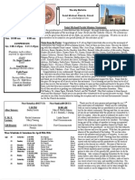 St. Michael's April 21, 2013 Bulletin