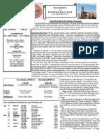 St. Michael's April 28, 2013 Bulletin