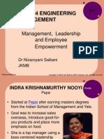 KF4133 W3 Management Leadership and Employee Empowerment